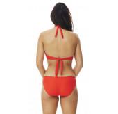 Ruched Bandeau Bikini