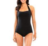 Halter Boyleg Swimsuit
