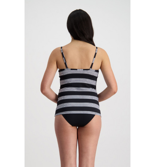 Tankini-Modern Stripes