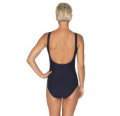 Mesh Neck Swimsuit