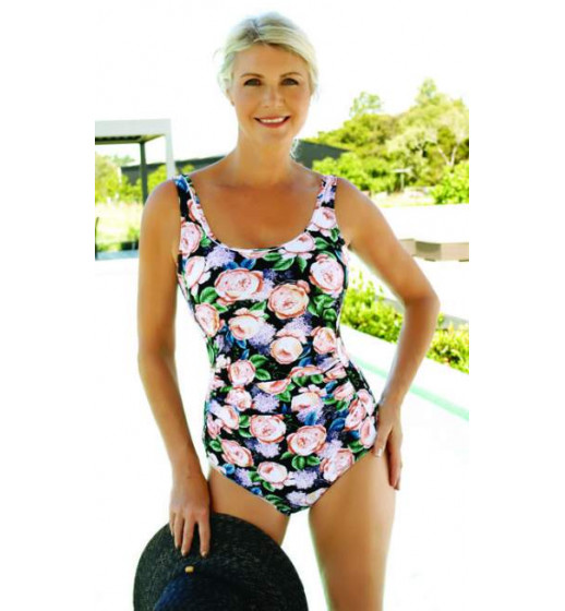 Angelina Swimsuit in Lady Peony