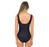 Cosmopolitan Mesh High Neck Swimsuit