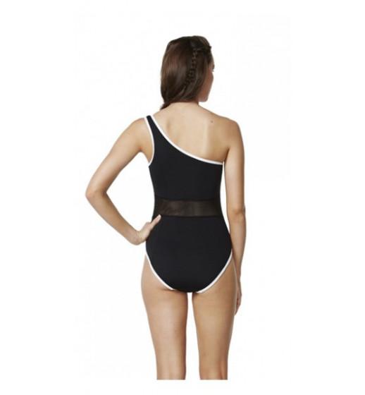 fe09615390b Mesh One Shoulder Swimsuit; Mesh One Shoulder Swimsuit ...