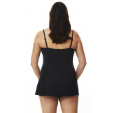 Twist Skirted Swimsuit