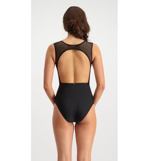 Retro Mesh Swimsuit
