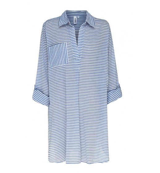 Resort Painters Shirt-Blue