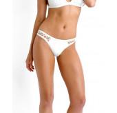 High Cut Brazilian Bikini Brief-Mesh side