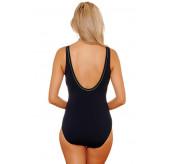 Angelina  Black Swimsuit